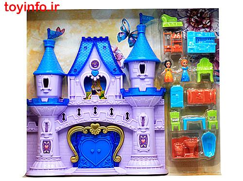 قصر عروسکی به همراه لوازم جانبی