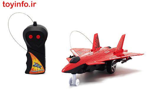 هواپیمای جنگی قرمز