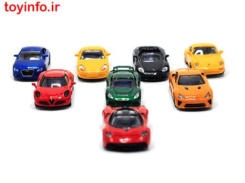 ماشین های فلزی رنگی