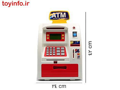ابعاد اسباب بازی ATM