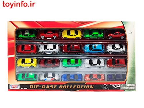 ست ماشین فلزی مسابقه ای