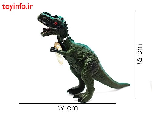 ابعاد اسباب بازی دایناسور