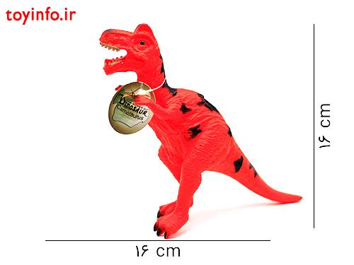 ابعاد فیگور دایناسور