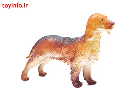 عروسک سگ شکاری
