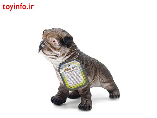 عروسک سگ بولداگ