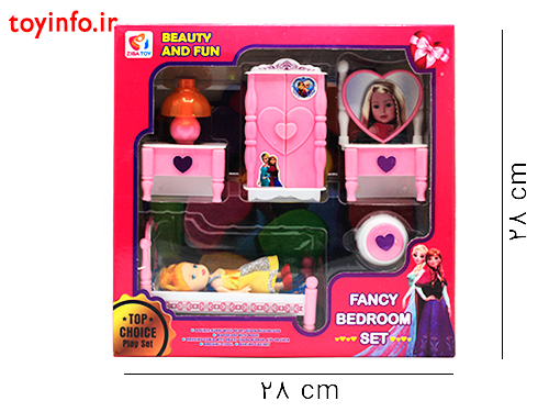 ست اتاق خواب عروسکی