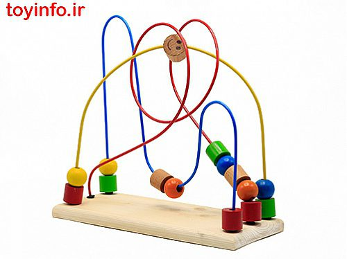 بازی فکری جدید برای کودکان خردسال , مارپیچ مهره