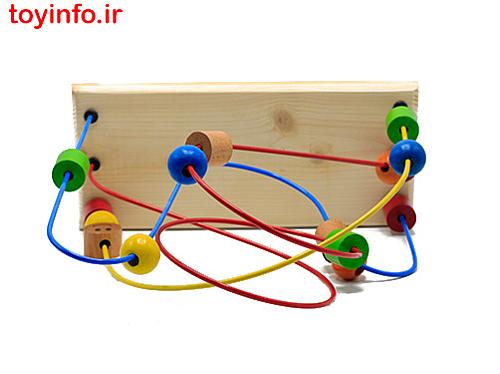 مارپیچ مهره فلزی - چوبی