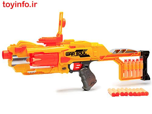 تفنگ تیرفومی نارنجی