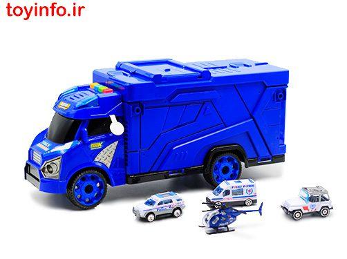 تریلی حمل ماشین برای نیروی پلیس