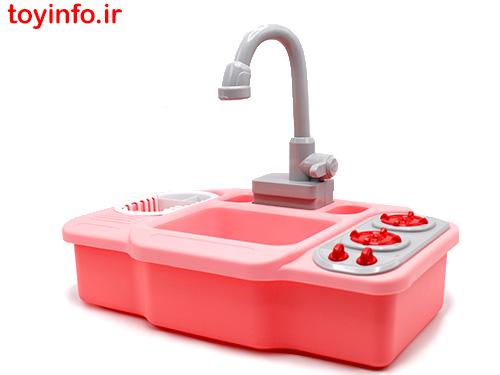 سینک ظرفشویی 805 با قابلیت خروج آب