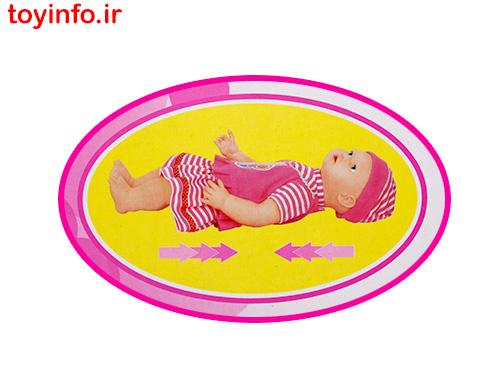 عروسک نوزاد با قابلیت رشد 5 سانتی متری