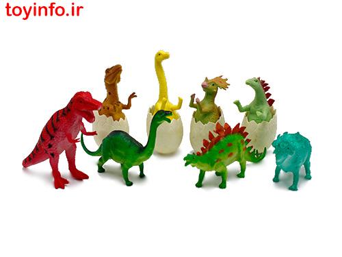 تخم دایناسور , دایناسورهای پلاستیکی